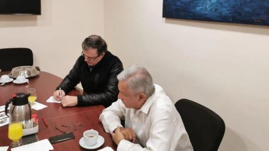 Amlo y Trump sostienen llamada telefónica sobre los hechos en Culiacán