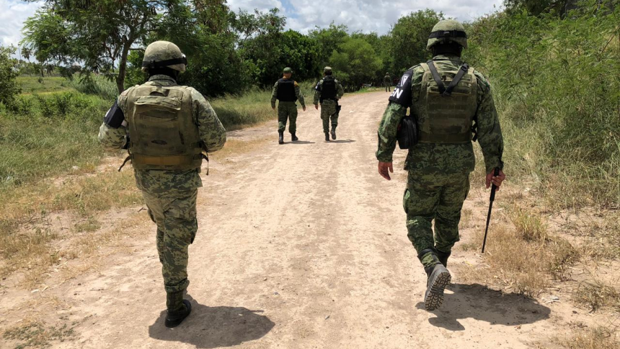 Redobla vigilancia Guardia Nacional en el río Bravo