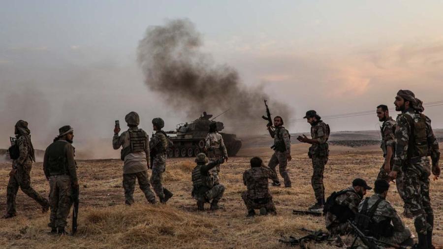 Turquía anuncia suspensión de la ofensiva en Siria