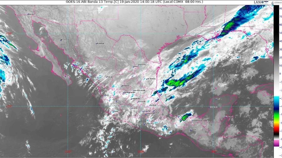 Se prevén lluvias fuertes para Tamaulipas y varias regiones del país