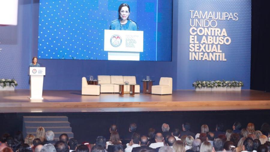 Lanzan estrategia Tamaulipas Unido contra el Abuso Sexual Infantil