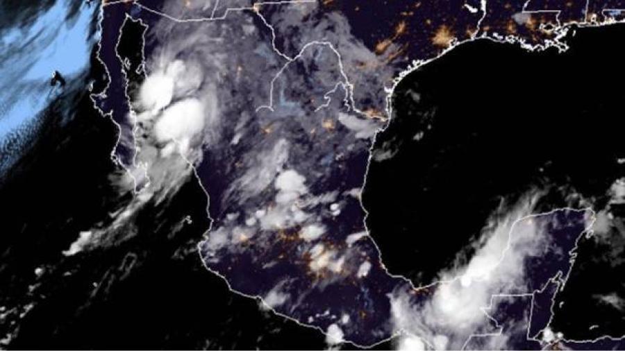 Toca tierra depresión tropical 19-E en Sonora