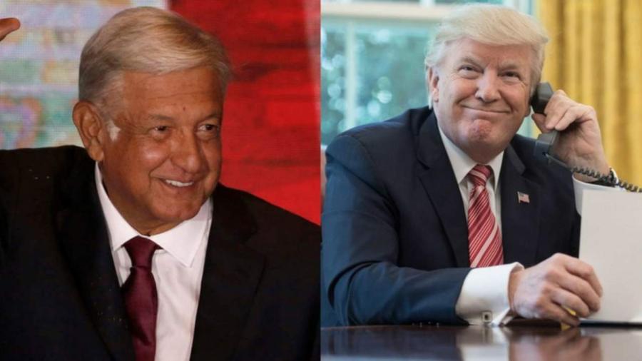 """""""La frontera es más fuerte"""": Trump tras llamada con AMLO"""