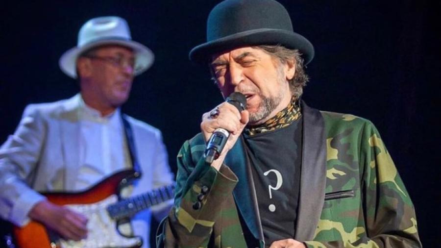 Operaron de urgencia a Joaquín Sabina tras aparatosa caída en concierto