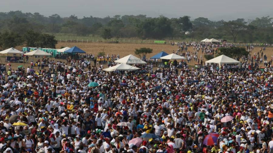 Miles de personas asisten al Venezuela Aid Live