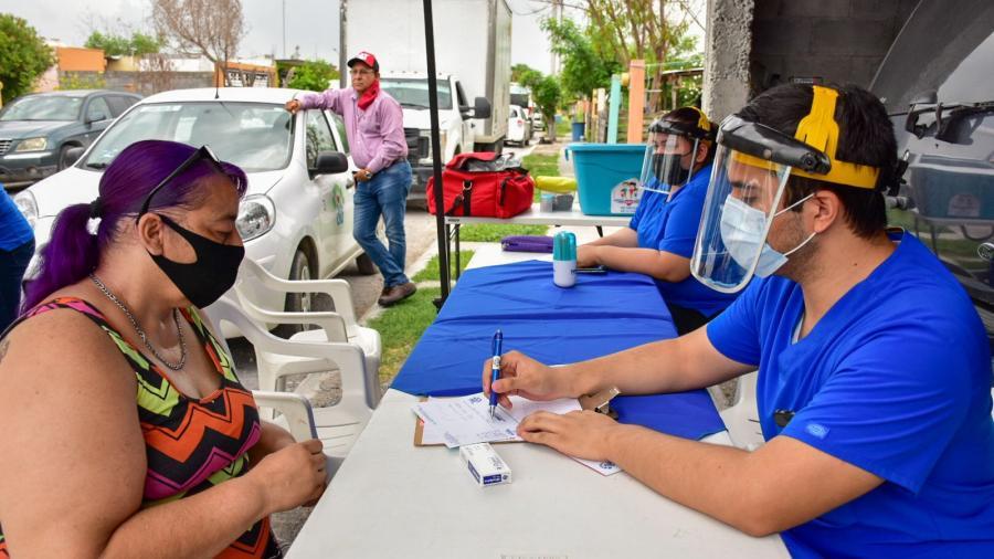 """""""DIF Reynosa en Tu Casa"""" acercó sus servicios a las familias vulnerables"""