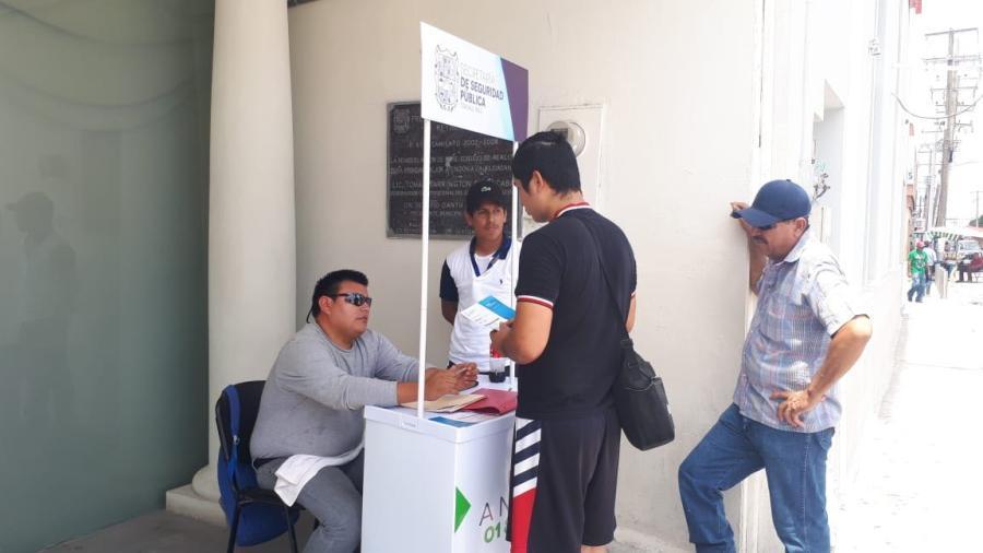 Continúa convocatoria para Fuerza Tamaulipas