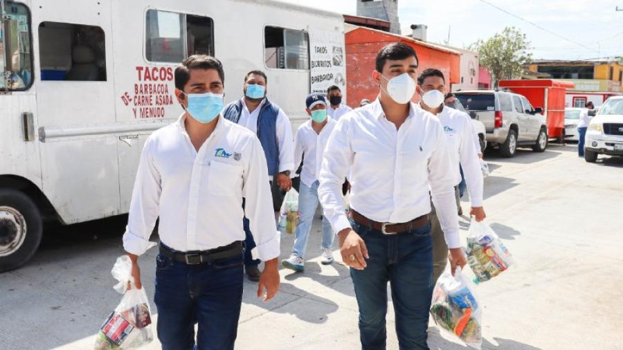 Jóvenes Tamaulipas e IMJUVE Nuevo Laredo se unen para ayudar a la comunidad