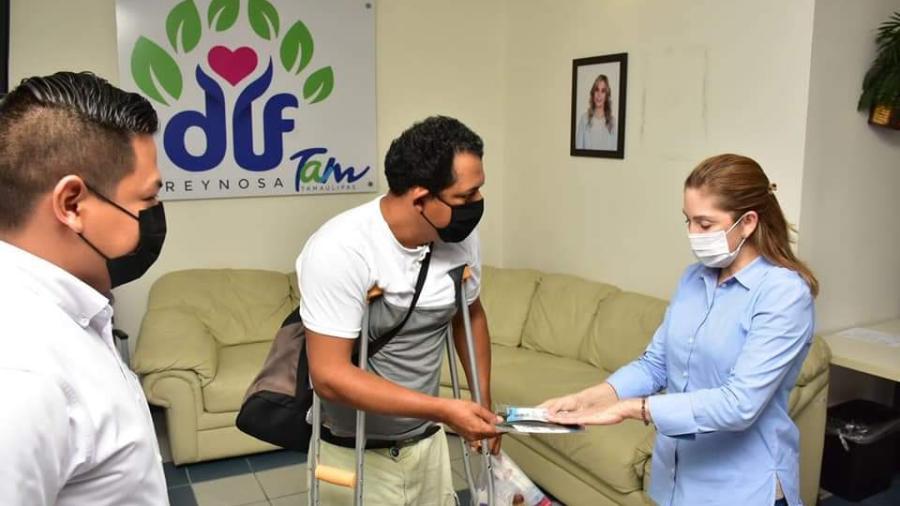 DIF Reynosa con política permanente de apoyo a personas vulnerables