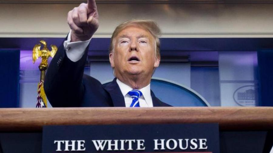 Trump arremete contra China por el Covid-19