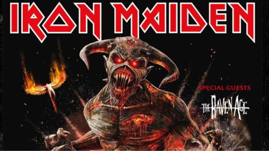 Iron Maiden vendrá a México en 2019