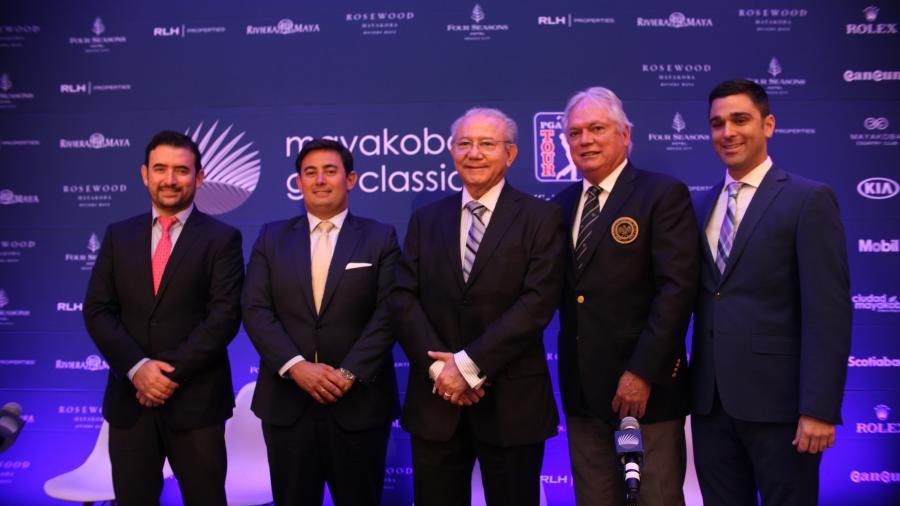Presentan oficialmente la 13va edición de Mayakoba Golf Classic