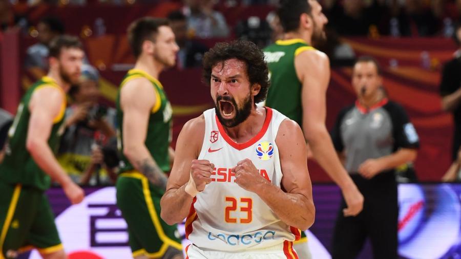 España supera a Australia y es el primer finalista del Mundial de Básquetbol