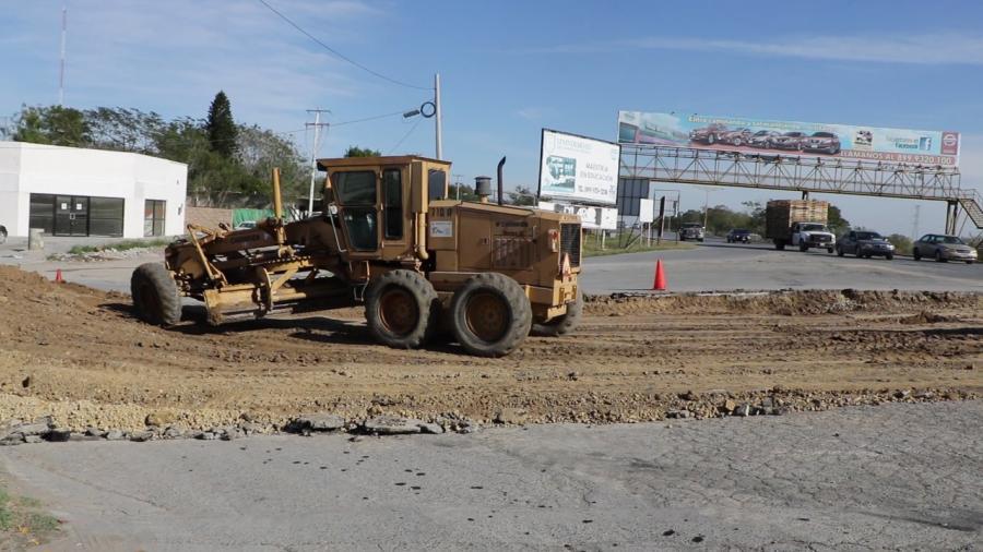 70 mdp fueron aplicados en obras viales para Río Bravo