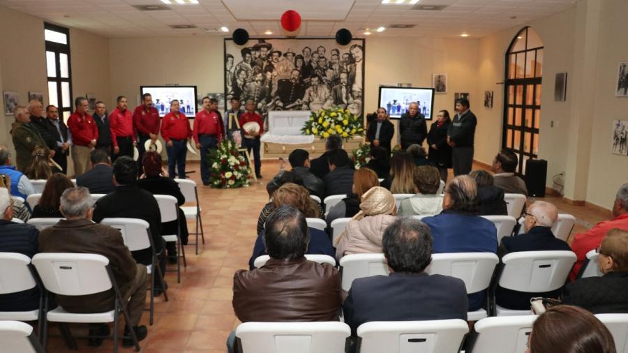 Rinden homenaje póstumo al creador del Museo del Agrarismo Mexicano, Profr. Héctor López Ponce