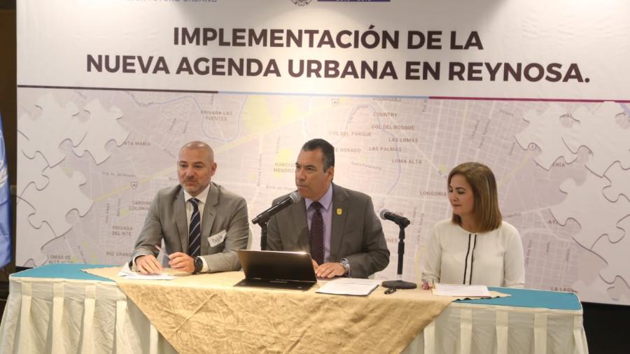 Planifica Reynosa desarrollo sostenible con ONU-Hábitat