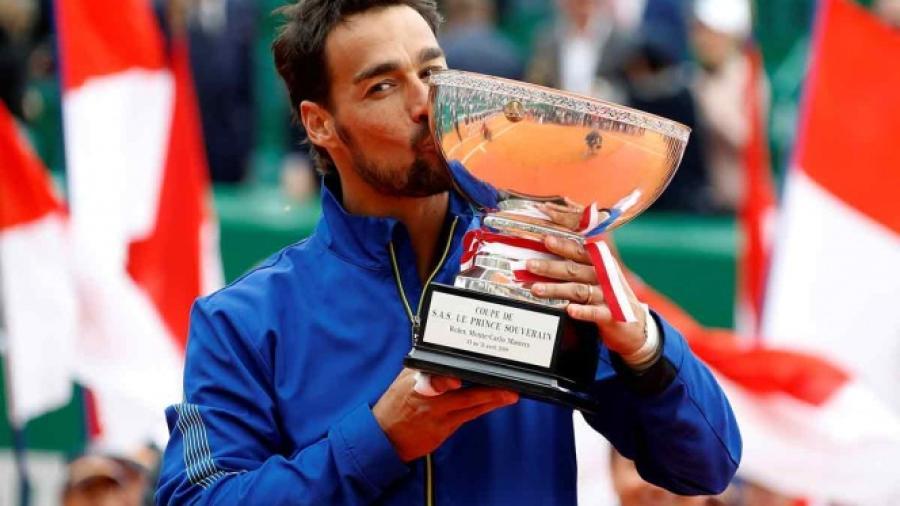 Conquista Fabio Fognini su primer Masters en Montecarlo