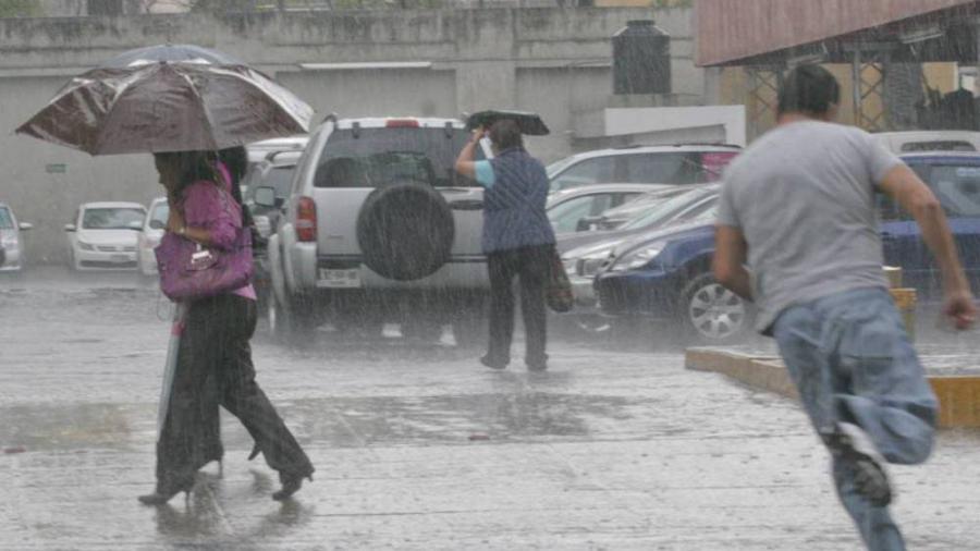 Prevén lluvias intensas en varios estados del país