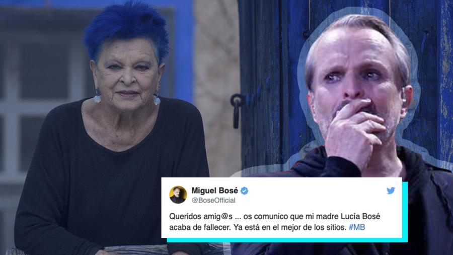 Fallece mamá de Miguel Bosé, medios reportan que podría ser a causa de covid-19