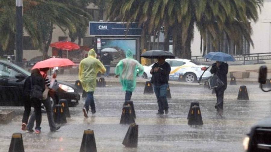 Continuarán lluvias en gran parte del país