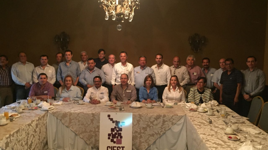 Jesús Nader hace sinergia con la clase empresarial de Tampico
