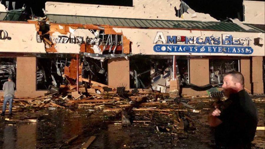 Tormentas en Pensilvania causan el colapso de varios edificios