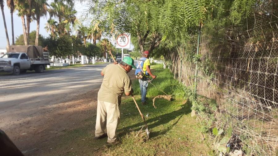 Desarrolla Municipio labor de mantenimiento en La Playita
