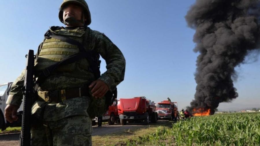 900 militares son desplegados en instalaciones de Pemex