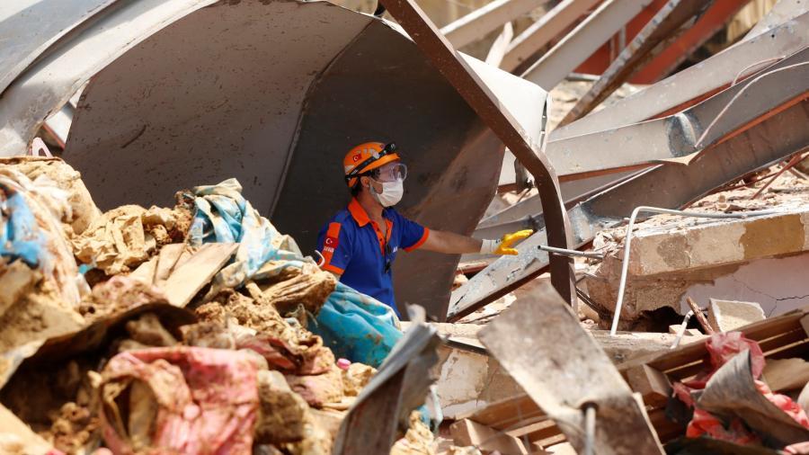 México donará 100 mil dólares a Líbano tras explosión