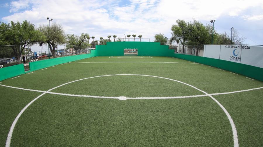 Concluyen remodelaciones en parque Narciso Mendoza