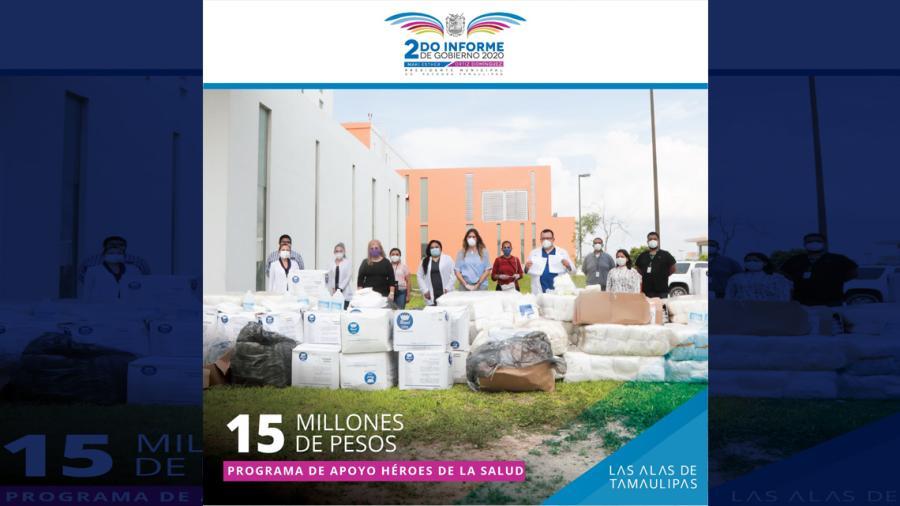 Apoya Municipio a Héroes de la Salud