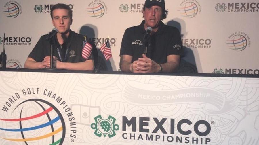 Phill Mickelson tiene su fórmula para ganar el WGC México