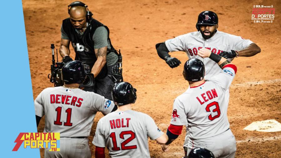 Boston pega y adelanta la ALCS 2-1 ante Astros