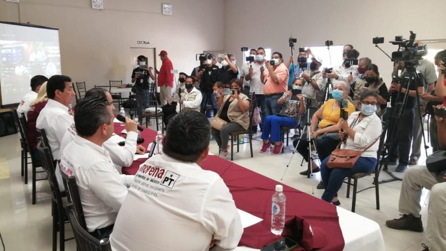 Delegado de MORENA acusa al gobierno de interferir en el proceso electoral con denuncias a sus candidatos