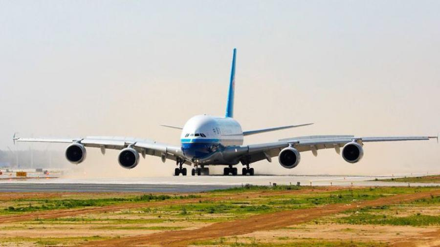 Realizan pruebas de aterrizaje en el nuevo Aeropuerto de Beijing