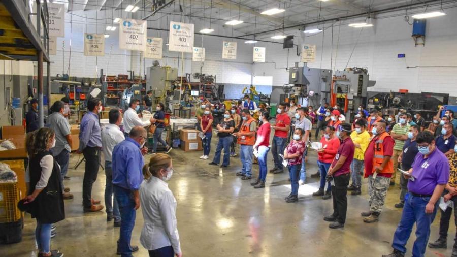 DIF Reynosa entregó apoyos a trabajadores de la industria maquiladora