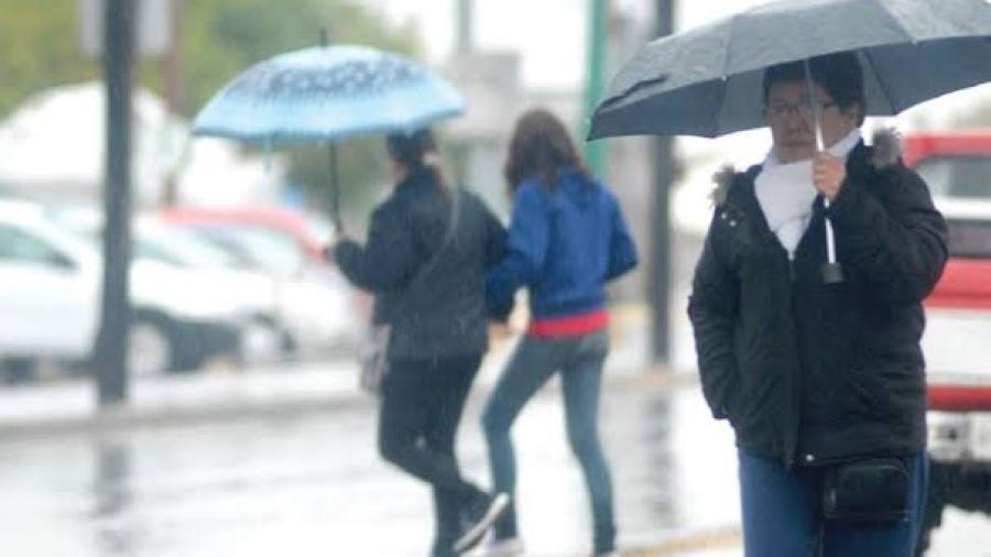 Se esperan lluvias de diferente intensidad en varios estados del país
