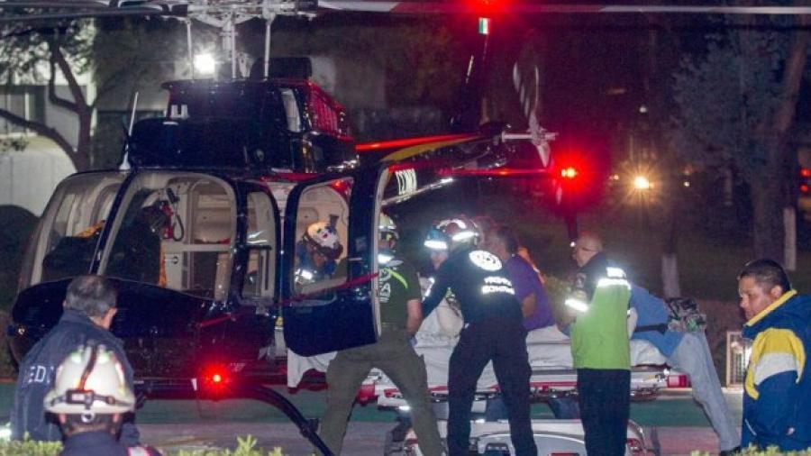 Atienden a lesionados de explosión, en Hospital Central Militar