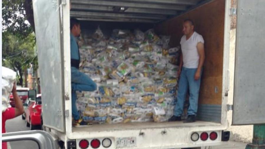 Asegura el ex director de Sedeso que el camión con despensas es un montaje
