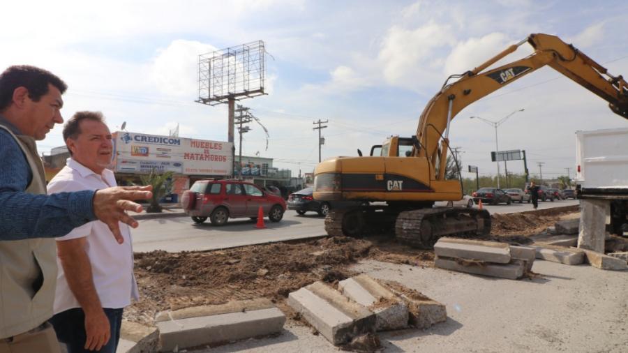 Inicia alcalde Mario López rehabilitación de pavimento con inversión superior a los 6.9 MDP