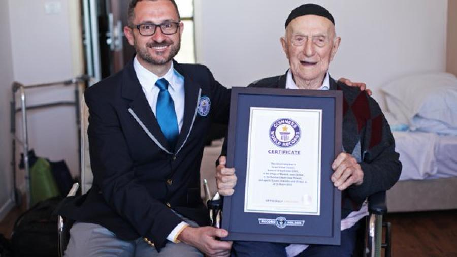 Fallece el hombre más longevo del mundo a los 113 años