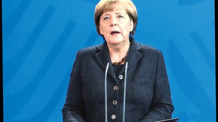 Merkel se sube al ring con Trump