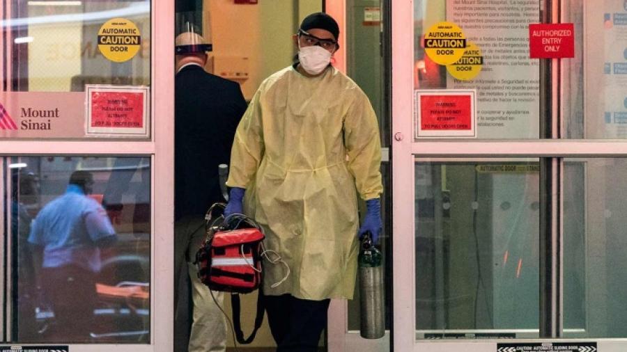 4 mil 159 contagiados en NY por pandemia