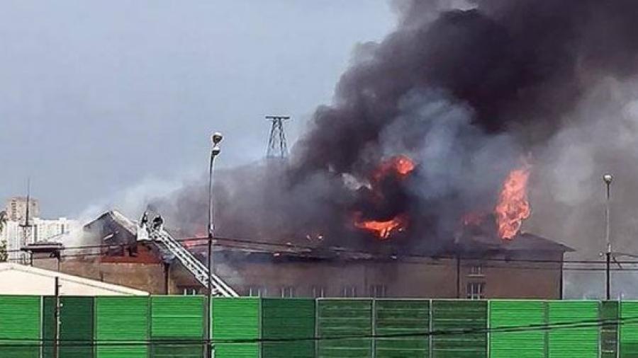 Siete heridos tras incendio en planta termoeléctrica en Moscú
