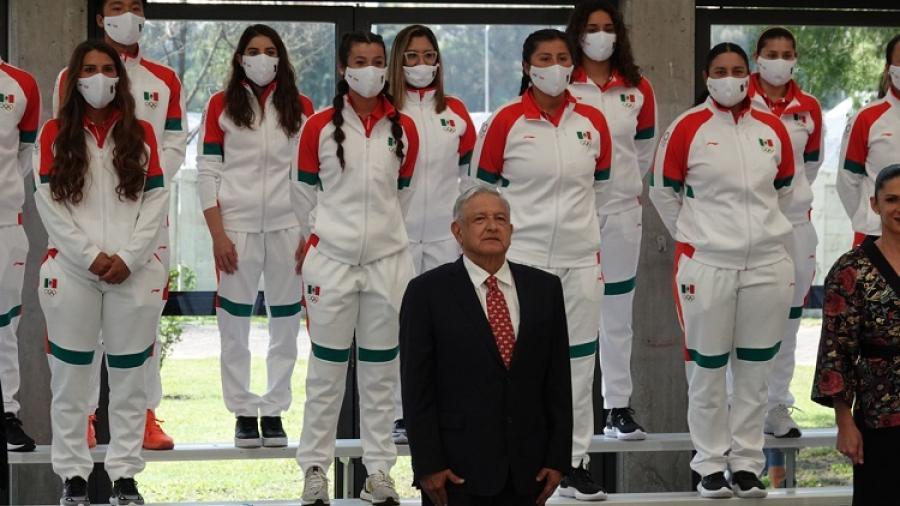 AMLO recompensará a los cuartos lugares mexicanos de los JJ. OO.