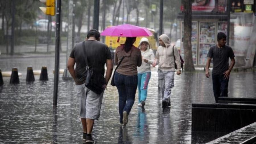 Se pronostican lluvias para gran parte del territorio nacional