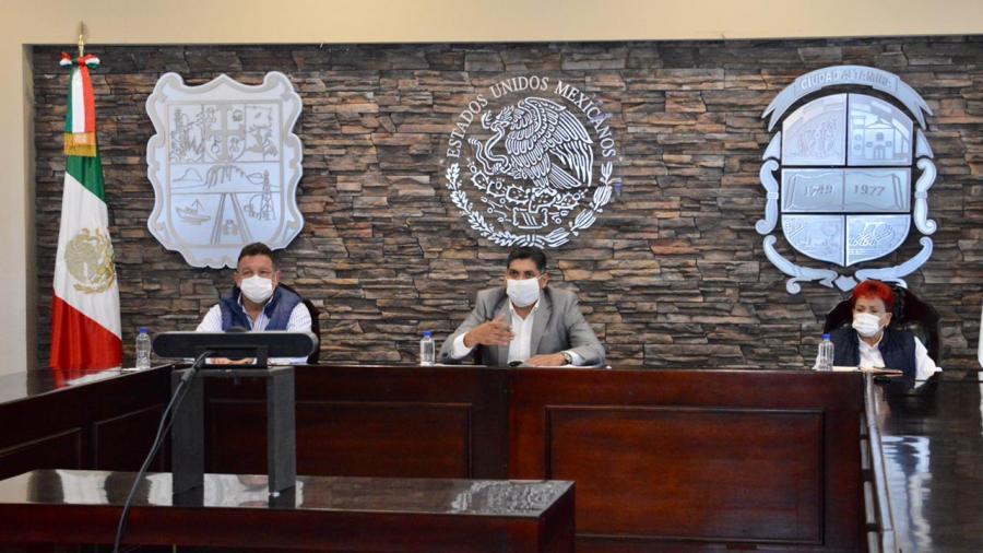 Gobiernos estatal y municipal exhortan a ciudadanía reforzar medidas contra el Covid-19