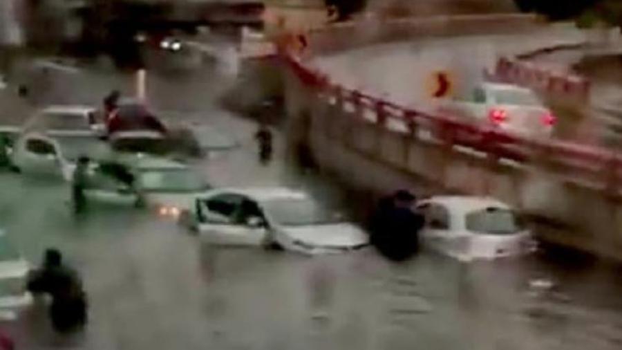Se registran inundaciones en diferentes zonas de Nuevo León