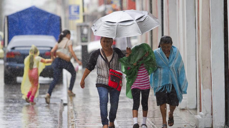 Prevalecerá el pronóstico de lluvias intensas en zonas de Campeche y Chiapas