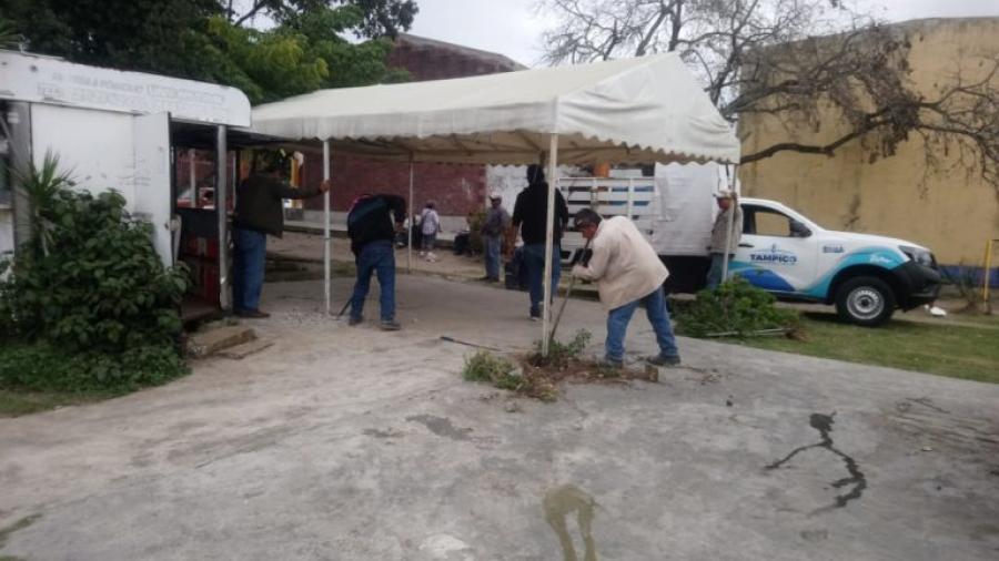 Recupera Ayuntamiento de Tampico Área Municipal que Había Sido Invadida por Particulares